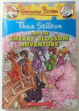 THEA STILTON AND THE CHERRY BLOSSOM ADVENTURE: A GERONIMO STILTON...(Ex-Library)