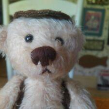 Vintage Artist Mohair Teddy Bear by Bear by Bear, Germany, 9in EUC