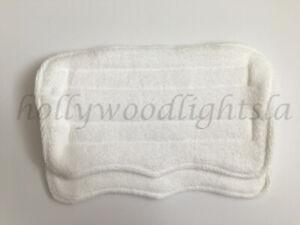 2X Mop pads REFILLs fits SWIFFER WET JET Washable Reusable Absorbent MICROFIBER