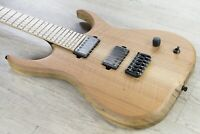 Skervesen Raptor 6 Electric Guitar Figured Walnut Top Black Limba Body Natural