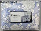 Charter+Club+Damask+Designs+Floral+KING+Quilted+Coverlet+%26+Shams+Set+Blue