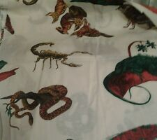 Western Dessert Theme Cotton Fabric Appliqués