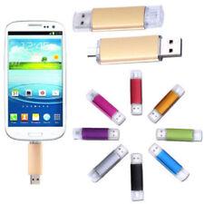 2TB 1TB 512GB OTG Dual Micro USB Flash Pen Thumb Drive Memory Stick for Phone PC