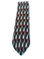 Croft & Barrow Graphic Design Men's Necktie Neck Tie Sleeved Silk USA