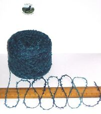 50g Peacock Blue Shades boucle knitting wool yarn acrylic 4 ply spun by Sirdar