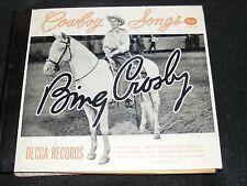BING CROSBY Cowboy Songs Vol. 1 Legendary 78 Set 1946! Home On The Range DECCA