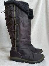 Timberland Women Size UK6 High Knee Boots Black Shoes