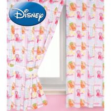 """DISNEY HIGH SCHOOL MUSICAL 66"""" x 72"""" PENCIL PLEAT CURTAINS WITH TIE BACKS COTTON"""