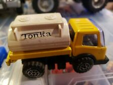 TONKA LITTLE YELLOW TANKER TRUCK