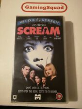 Scream (Widescreen) VHS Video Retro, Supplied by Gaming Squad