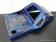 BMW Rear Seat Cowl Cover blue K75 K100 #05091713 52531453484 OEM