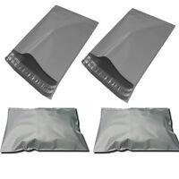 1000 x Plastic Strong Packaging Postal Polythene Grey Mail Bag 9X12 inch/23x30cm