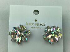 Kate Spade White Patina Cluster Stud Earrings in Gift Bag O0ru2615