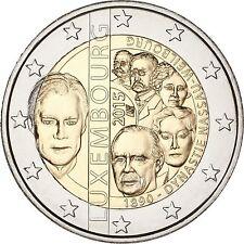 """Luxembourg - 2 Euro commémorative 2015 """"Dynastie des Nassau Weilburg"""" UNC"""
