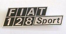 Scritta -Fregio - posteriore  Fiat 128  Sport -