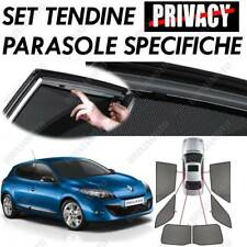 PRIVACY SHADES FOR REAR WINDOWS 18192 FOR RENAULT MEGANE III 5P (11/08>12/15)