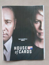 Poster House of Cards (2017) Staffel 5 (Kevin Spacey + Robin Wright)