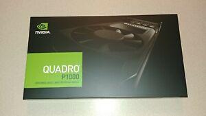 NVIDIA Quadro P1000 Video Card VCQP1000V2-PB | 4GB GDDR5 Brand New W/Adapters