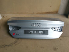 Audi RS5 F5 A5 S5 Coupe Heckklappe Kofferraumdeckel Heck silber rear trunk lid