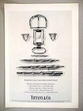Tiffany Jewelry PRINT AD - 1974 ~ men's gifts