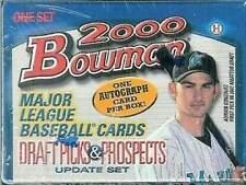 2000 Bowman Draft Picks & Prospects Baseball Update Sealed Box Set -1 AUTO a Set