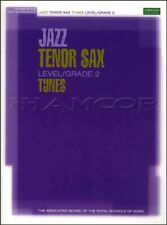 Jazz Tenor Sax Tunes ABRSM Level/Grade 2 Sheet Music Book/CD SAME DAY DISPATCH