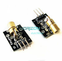 2PCS Laser sensor Module 650nm 6mm 5V 5mW Red Laser Dot Diode Copper Head