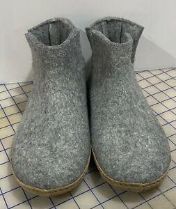 Glerups Wool Boot Grey Men's Size 9-9.5 Women's 11 (EU 42)