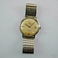 Omega Automatic Seamaster Deville Watch with Date and Speidel Band