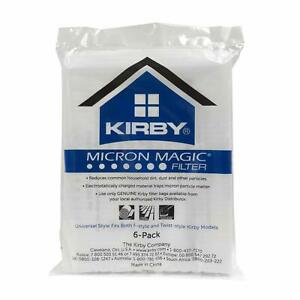 6 X KIRBY GENUINE MICRON MAGIC SENTRIA G10 E HEPA 204808 SC2508 Vacuum Bags