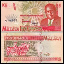 Malawi 5 Kwacha, 1995, P-30, UNC