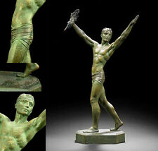 67 cm. ESCULTURA ART DECO DARCOURT 1920 1930 LARGE STATUE Demetre CHIPARUS