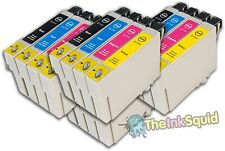 16 T0891-4/T0896 non-oem Monkey Ink Cartridges fit Epson Stylus DX6000 DX6050