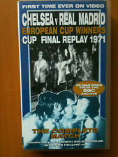 CHELSEA V REAL MADRID ~ CUP FINAL REPLAY 1971 ~ EUROPEAN CUP WINNERS ~RARE VIDEO
