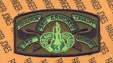 """3rd Sq 3rd ACR Armored Cavalry Regiment """"BRAVE RIFLES"""" pocket patch"""