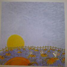Suzy's Zoo Pumpkin Patch Scrapbook Paper - 4 sheets