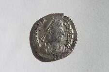 ANTICHI ROMANI VALENS Argento Siliqua Coin 4th secolo d.C. Treviri