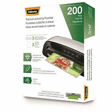 Fellowes Laminating Pouches - Letter, 5 mil, 200 Pack (5743601)