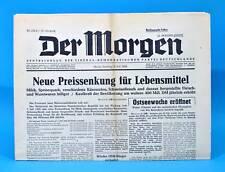 Der Morgen 6. Juli 1958 zum 60. Geburtstag Hochzeit 06.07.1958 DDR 6.7.1958