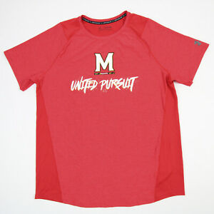 Maryland Terrapins Under Armour HeatGear Short Sleeve Shirt Men's Red