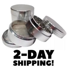 Small Tobacco Grinder Aluminum Herb/Spice Alloy Smoke 40mm Crusher 4 Piece