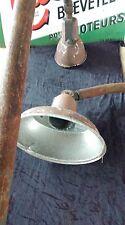 ANCIENNE LAMPADAIRE DE RUE ECLATEC NANCY 1950,HUBERT ADAM,spot,loft,vintage