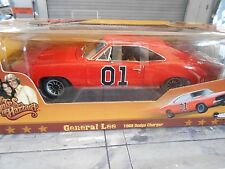 DODGE Charger General Lee The Dukes of Hazzard V8 TV kino Ertl AMT Filmauto 1:18