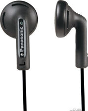 BRAND NEW Panasonic RP-HV094 Black In-Ear Stereo Earphones SHIPS FROM USA