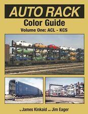 AUTO RACK Color Guide, Vol. 1: ACL-KCS -- (NEW BOOK Published 2018)