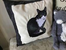 Handmade Machine Embroidered Cushion
