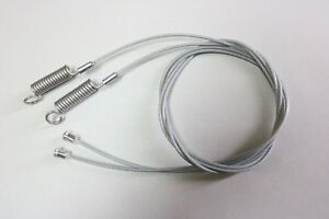 1965-68 Full Size Ford & Mercury Convertible Side Hold Down Tension Cables -Pair