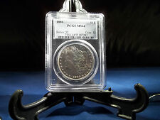 1880-S, 1886, 1887 Morgan Silver Dollars PCGS MS64 (1880 all sold out)