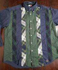 Vintage Tommy Hilfiger Classic Striped Plaid Button Down Shirt XL