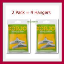Korjo Inflatable Coat Hanger Set 2 piece (CH37D) x2 (x4 Hangers)